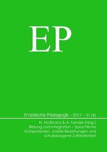 Bildung und Integration - Sprachliche Kompetenzen, soziale Bezie