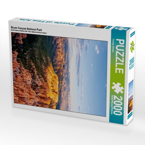 Bryce Canyon National Park 2000 Teile Puzzle hoch