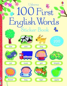 First Sticker Book: English Words