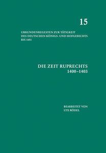 Die Zeit Ruprechts (1400-1403)