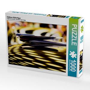 Oldtimer Kühlerfigur 1000 Teile Puzzle quer