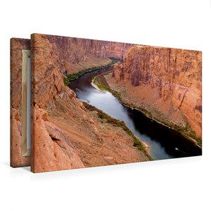 Premium Textil-Leinwand 75 cm x 50 cm quer Colorado River