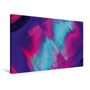 Premium Textil-Leinwand 75 cm x 50 cm quer Verwoben