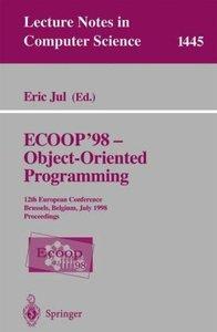 ECOOP '98 - Object-Oriented Programming