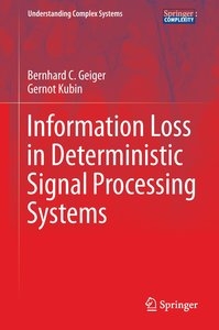 Information Loss in Deterministic Signal Processing Systems