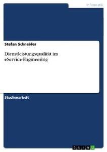 Dienstleistungsqualität im eService-Engineering