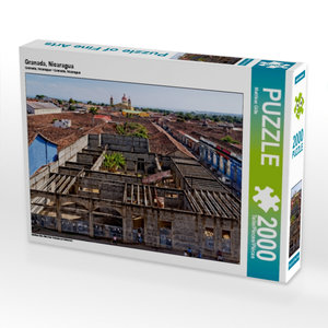 Granada, Nicaragua 2000 Teile Puzzle quer