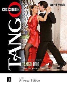Tango Trio, für Violine (Flöte), Violoncello und Klavier
