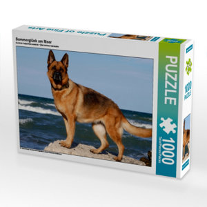 Sommerglück am Meer 1000 Teile Puzzle quer