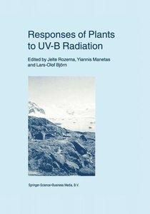 Responses of Plants to UV-B Radiation