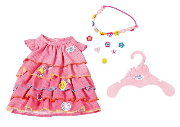 BABY born Sommerkleid mit Pins - zum Schließen ins Bild klicken