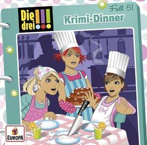 Die drei !!! 51: Krimi-Dinner (Audio-CD)