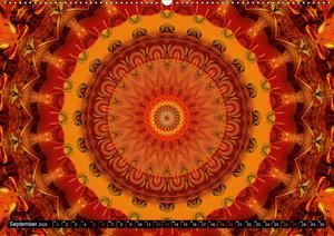 Energie - Mandalas in orange
