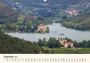Trentino - Von den Dolomiten bis zum Gardasee (Wandkalender 2019