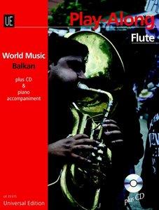 Balkan - Play Along Flute, mit Audio-CD + Klavierbegleitung