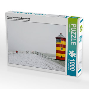 Pilsener Leuchtturm, Deutschland 1000 Teile Puzzle quer