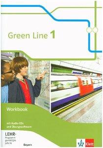Green Line 1. Workbook mit 2 Audio-CDs und Übungssoftware. Neue