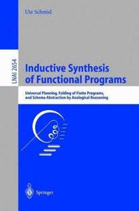 Inductive Synthesis of Functional Programs
