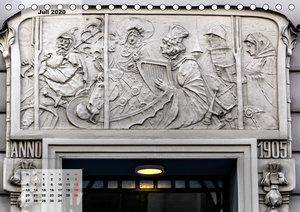 Jugendstil-Reliefs in Wien
