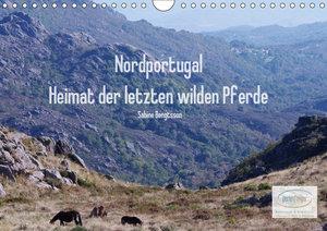 Nordportugal - Heimat der letzten wilden Pferde (Wandkalender 20