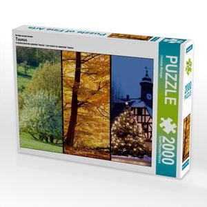 Ein Motiv aus dem Kalender Taunus 2000 Teile Puzzle quer