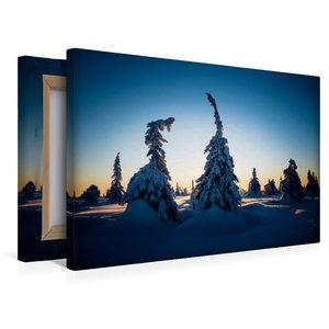 Premium Textil-Leinwand 45 cm x 30 cm quer Karelien in der unter
