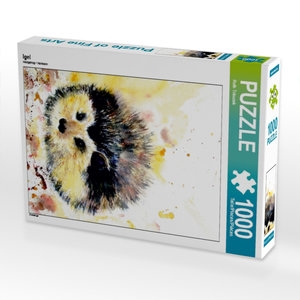 Igel 1000 Teile Puzzle hoch