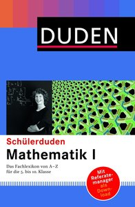 Duden. Schülerduden. Mathematik 1