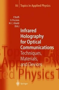 Infrared Holography for Optical Communications