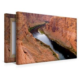 Premium Textil-Leinwand 45 cm x 30 cm quer Colorado River