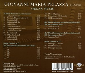 Pelazza:Complete Organ Music