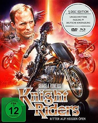 Knightriders - Ritter auf heißen Öfen, 2 Blu-ray + 1 DVD (Mediab - zum Schließen ins Bild klicken
