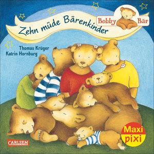 Maxi-Pixi Nr. 182: VE 5 Bobby Bär: Zehn müde Bärenkinder