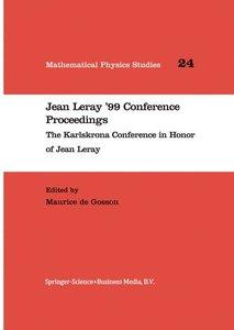 Jean Leray '99 Conference Proceedings