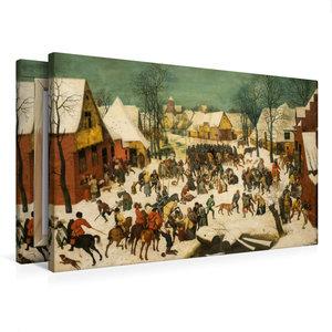 Premium Textil-Leinwand 75 cm x 50 cm quer Bethlehemischer Kinde