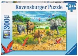 Ravensburger 132195 - Afrikas Tierkinder - Kinderpuzzle, 300 XXL