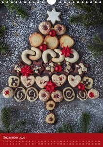 Ein Jahr Kekse (Wandkalender 2020 DIN A4 hoch)