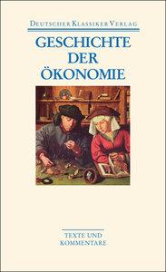 Geschichte der Ökonomie
