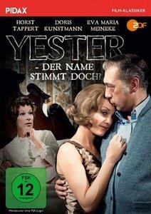 Yester - Der Name stimmt doch?, 1 DVD