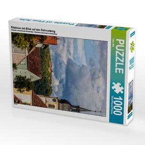 Rödelsee mit Blick auf den Schwanberg 1000 Teile Puzzle hoch