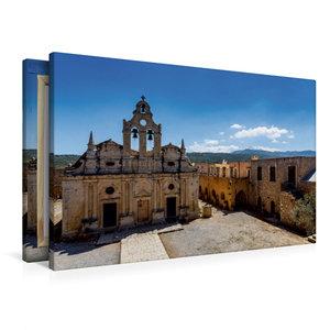 Premium Textil-Leinwand 90 cm x 60 cm quer Arkadi-Kloster das be