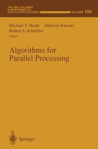 Algorithms for Parallel Processing