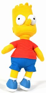 United Labels 1000030 - Simpsons: Plüschfigur, Bart
