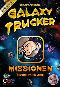 Asmodee CGED0016 - Galaxy Trucker, Missionen, Erweiterung