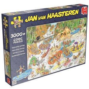 Jan van Haasteren - Wildwasserrafting - 3000 Teile