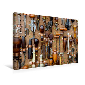 Premium Textil-Leinwand 45 cm x 30 cm quer Werkzeug