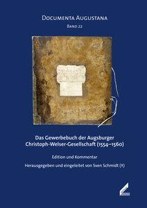 Das Gewerbebuch der Augsburger Christoph-Welser-Gesellschaft (15