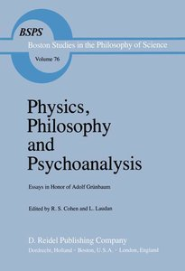 Physics, Philosophy and Psychoanalysis