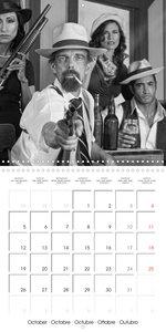 The 20th Century - Gangsters, girls and guns (Wall Calendar 2020