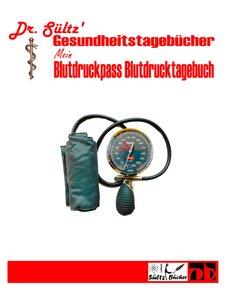 Blutdruckpass - Blutdruck Tagebuch